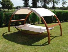 Canopy Hammock (http://blog.hgtv.com/design/2013/08/07/daily-delight-canopy-hammock/?soc=pinterest)