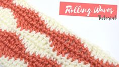 CROCHET: How to crochet the Rolling Waves stitch | Bella Coco - YouTube