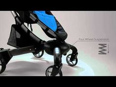 4 Moms Origami stroller.  Wow!!  The Cadillac of strollers....makes me almost wish I needed a stroller again....almost!!