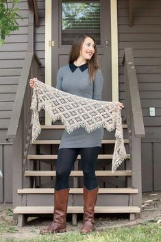 Interweave Presents: Classic Crochet Shawls - Book Review and Giveaway - The Stitchin Mommy