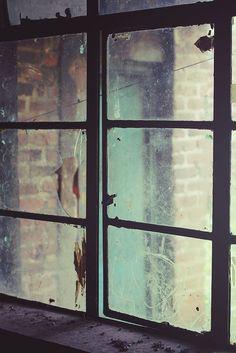 derelict school - amazing light, composition, colour...