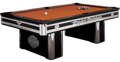 Exceptional Harley Davidson Pool Table