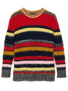 Stripes, Brights, Cardigans, & More Of Fall's Coolest (& Coziest) Knitwear+#refinery29