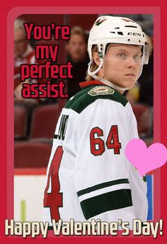 This Olympian has a special Valentine's Day assist for you to give to your crush. #mnwild