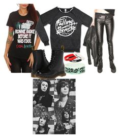 """""""Band tag"""" by paniceverywhere ❤ liked on Polyvore"""