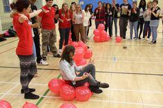 #Balloons #NTUSR12 #activity #teamwork