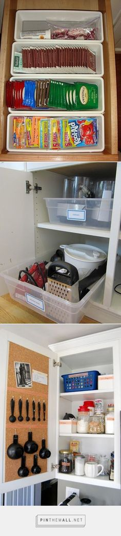 More organization ideas.