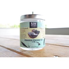 Freshest Coconut Oil I've tried!  LOVE cooking with this! - RAW Hawaiian, USA Pure Organic Coconut Oil - 8oz.