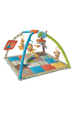 Deluxe Twist & Fold Activity Gym and Play Mat - New! - Infantino