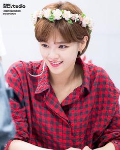 TWICE - Yoo JungYeon 유정연 at  SPIRIS Fansign Event 160909