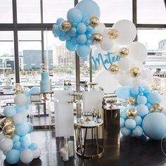 Blue and White Balloons 40 pcs 12 Inch Baby Blue Balloons White Balloons Pack White Marble Balloons and Gold Confetti Party Balloons for Boy Baby Shower Decorations, Boy Birthday Decorations Blue Party Decorations, 1st Birthday Decorations, Baby Shower Decorations For Boys, Balloon Decorations, Marble Balloons, Gold Confetti Balloons, White Balloons, Bridal Balloons, Ballons Brilliantes