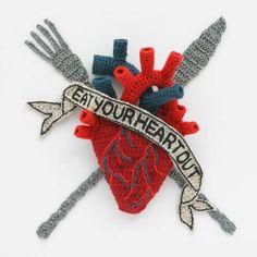 kate jenkins crochet heart