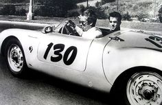 James Dean Cause of Death | Jimmy and Rolf Wütherich in the 550 Spyder
