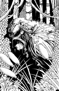 Full Size Swamp Thing By Corpsecomic On DeviantArt