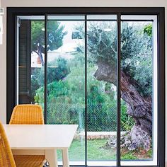 Visit your one-stop-shop for custom specialty and .Presenting the stunning Alu Vision Plus Sliding Door! PM for quote link! Folding Doors, Custom Home Builders, New Builds, Patio Design, Open Plan, Luxury Living, Building A House, Outdoor Living, Home Improvement