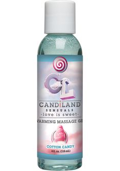 Buy Candiland Sensuals Flavored Warming Massage Gel Cotton Candy 4 Ounce online cheap. SALE! $16.49
