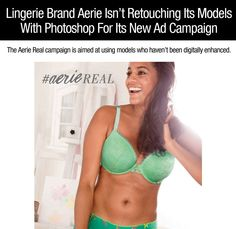 Lingerie brand bans Photoshop in new campaign aimed at real girls…