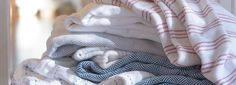 Cotton Blankets by Brahms Mount