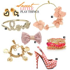 themarcygiron.com - Sweet little play things. Must-have accessories for the fun and flirty lady.