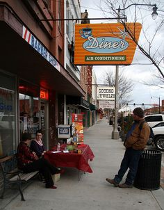 The Diner in Norman, OK - featured on Diners Drive-ins and Dives