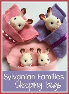 Sleeping bags for Sylvanian Families
