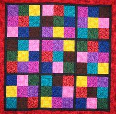 Sudoku Quilt Pattern - Download http://www.kendallparkquiltsforkids.org/sudoku_inspired.pdf