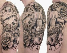 I really like this tattoo so much detail.
