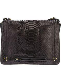 JÉRÔME DREYFUSS 'Albert' Python Shoulder Bag