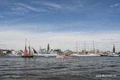 Der Hamburger Hafengeburtstag 2016 // #Hamburg #HamurgerHafen #Hafengeburtstag #Hafen / gepinnt von www.MeerART.de