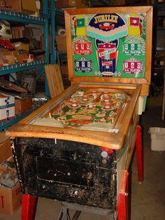"""1955 Jubilee """"Gottlieb""""Pinball Machine"""