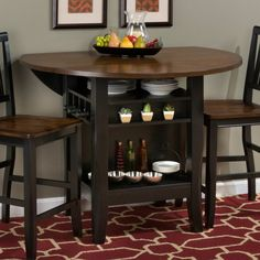 jofran braden birch counter height dining table