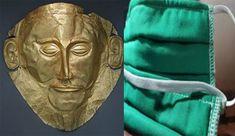 Από το θεατρικό και τελετουργικό προσωπείο στην ιατρική μάσκα, της αγιογράφου Μαριλένας Φωκά
