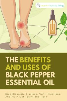 Whether you are trying to detox, prevent cancer, or quit smoking, this is the essential oil for you! Learn how to use black pepper oil for these benefits and even more. #healthyliving #blackpepperoil #essentialoils #quitsmoking #detox
