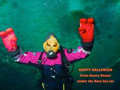 Halloween greetings from Antarctica