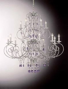 Swarovski Crystal chandelier OR/608/10+5.CR.SW.VI