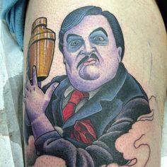 Paul Bearer wrestling tattoo Wrestling Tattoos, Paul Bearer, Our Body, Great Artists, Wwe, Portrait, Awesome, Headshot Photography, Portrait Paintings