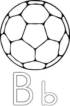 B is vir bal Grade R Worksheets, Preschool Activities, Alphabet, Afrikaans, Lettering, Balloons, Kids, Alpha Bet, Drawing Letters