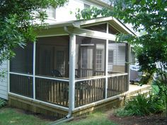 Screened In Porch Plans to Build or Modify | Screened porches ...