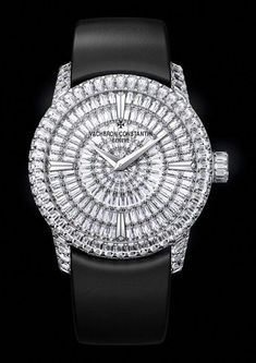 The new Vacheron Constantin Patrimony Traditionnelle High Jewellery watch - Pres. Bracelet Nato, Bracelet Cuir, High End Watches, Cool Watches, Latest Watches, Wrist Watches, Watches Online, Elegant Watches, Beautiful Watches