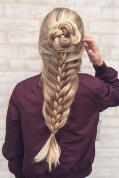 Lovely Hair with Mermaid Braids picture 3
