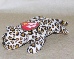 Ty Teenie Beanie Baby Babies Freckles the Leopard Original Beenie Babies f10a2d62ad08
