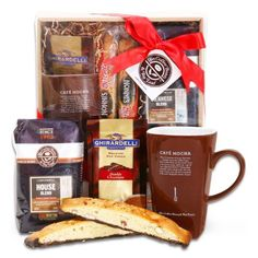 Warm Drinks and Treats | Coffee Bean and Tea Leaf Collection Gift Set