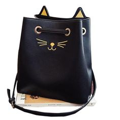 5f26607029c Gorgeous Samantha Luna Kitty Hand Bag! Cat Purse, Cat Accessories, Wallets  For Women. Poochnkitty