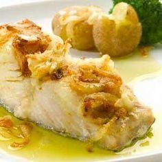 Ilhablog-delicias: Bacalhau da Noruega grelhado