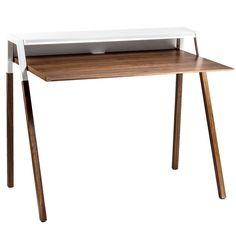 Cant Desk White / Blu Dot x Fab