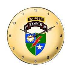 1st Ranger Bn Clock
