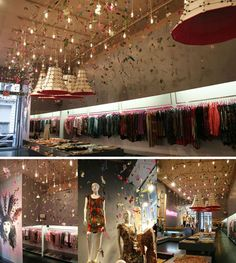 ceiling visual merchandise - Google Search