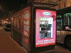 IKEA s'installe dans les abribus de Paris #IKEA #design #paris #deco