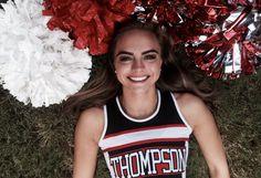 Cheer senior picture