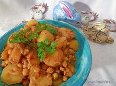 Chickpea Curry (Vegan -Pressure Cooker). Photo by awalde